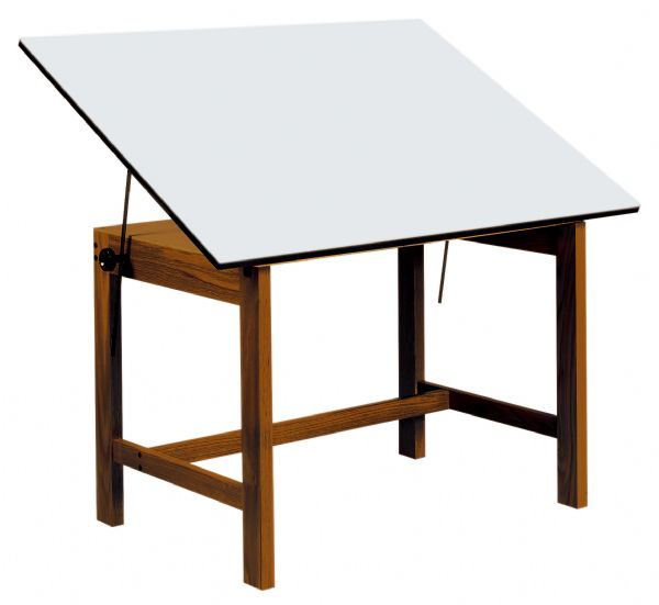 "Alvin Titan Solid Oak Tables 31"" X 42"" X 30"""