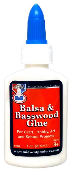 Midwest Products Balsa and Basswood Glue