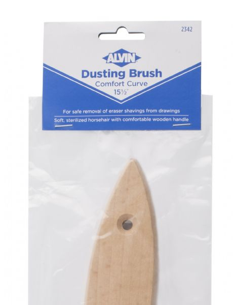 Alvin Comfort Curve Dusting Brush