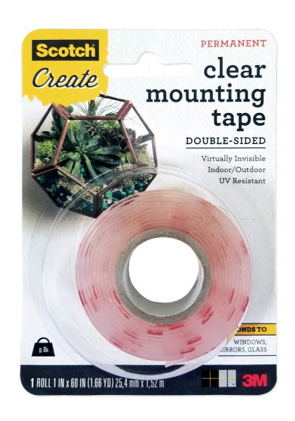 3M Clear Mounting Tape Double-Side
