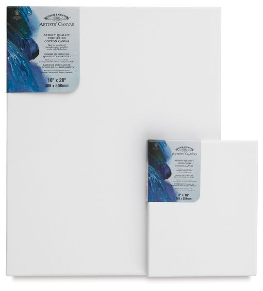 "Winsor & Newton Winsor & Newton™ Artists' Stretched Canvas Board 3"" x 5"": 3"" x 5"", Panel/Board, (model 6224095), price per each"