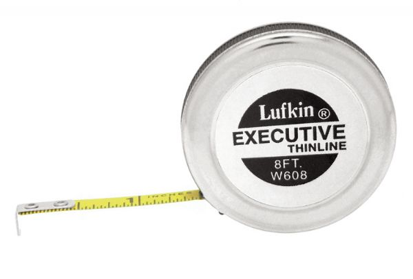 Lufkin® Thin Line 8' Pocket Tape Measure