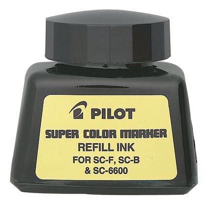 Pilot Super Color Black Refill Ink