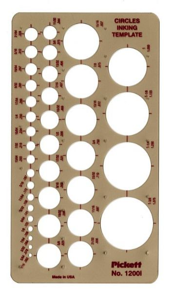 Pickett Circles Template