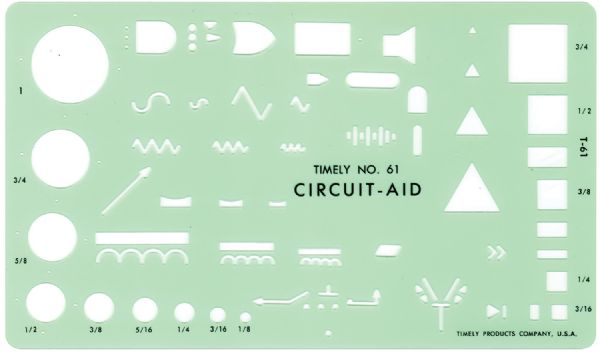 Timely Circuit Aid Template