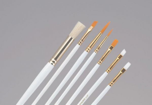 Princeton Brush Set Oil And Acrylic Stencil 1/4, 3/8, 1/2 And 5/8