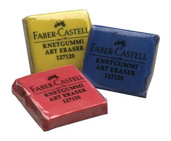 Faber-Castell Color Kneaded Eraser Display