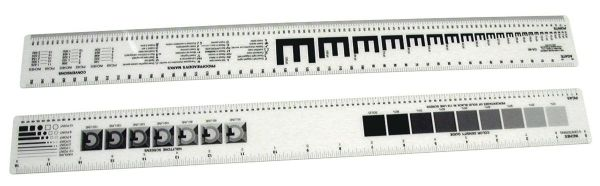 "Westcott 18"" Graphic Arts Ruler"
