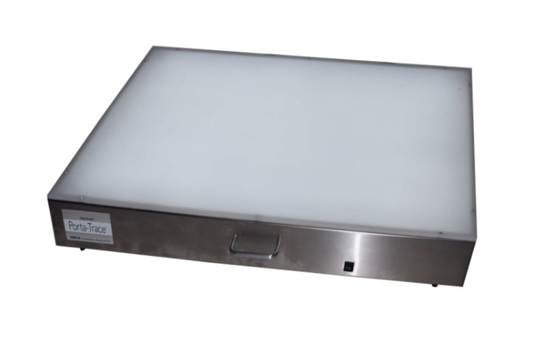 "Gagne Porta-Trace Lightbox: 16"" x 18"", Stainless Steel Frame"