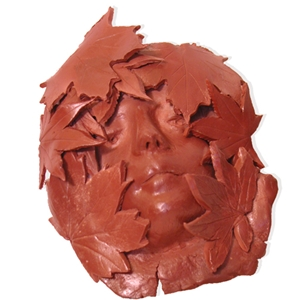 Sculpture House Claystone Self-Hardening Clay: Red, 25 lbs.