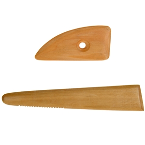 Sculpture House Wooden Potters Ribs: Set of 2