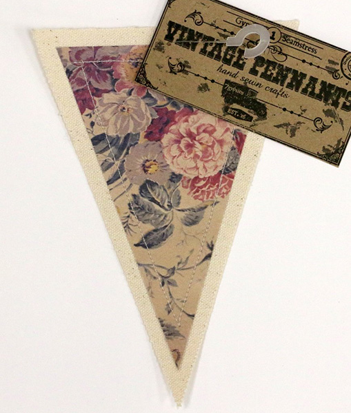 Canvas Corp - Vintage Pennant - Roses