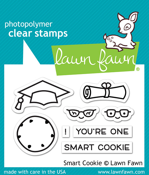 Lawn Fawn - Stamps - Smart Cookie Stamp Set