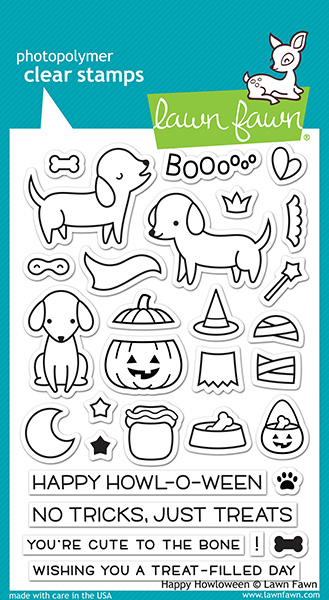 Lawn Fawn - Happy Howloween Stamps