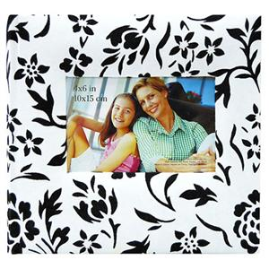 MBI Scrapbook Albums: Flocked, Black and White