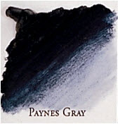 Professional Permalba Paynes Gray: 37ml Tube