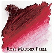 Professional Permalba Rose Madder Permanent: 37ml Tube