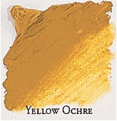 Professional Permalba Yellow Ochre: 37ml Tube