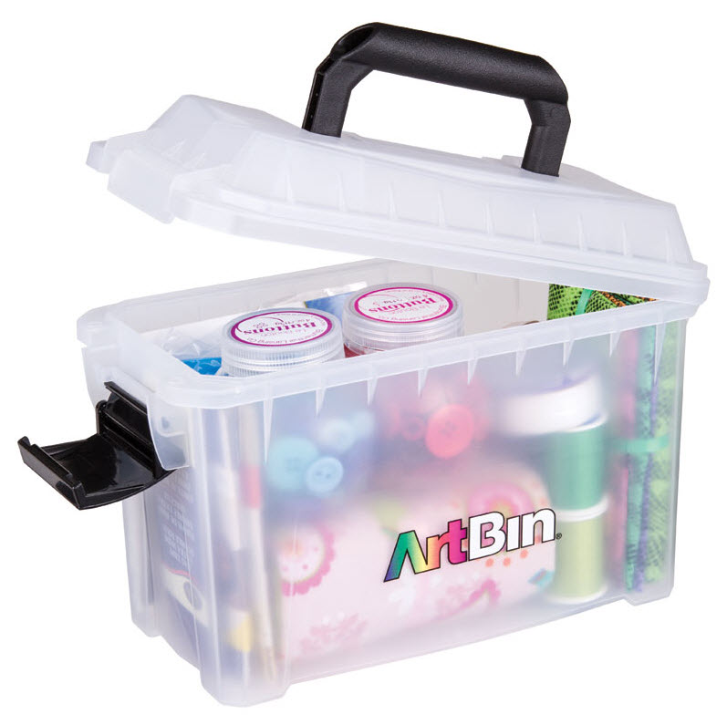"ArtBin Mini Sidekick: 5.5"" x 11"" x 7"", Clear"