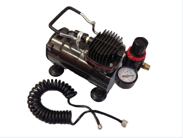 Inovart 1/5hp Single Piston, Oiless Mini Air Compressor, WAC 1000