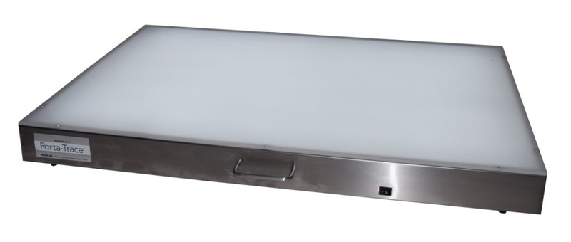 "Gagne Porta-Trace Lightbox: 24"" x 36"", Stainless Steel"
