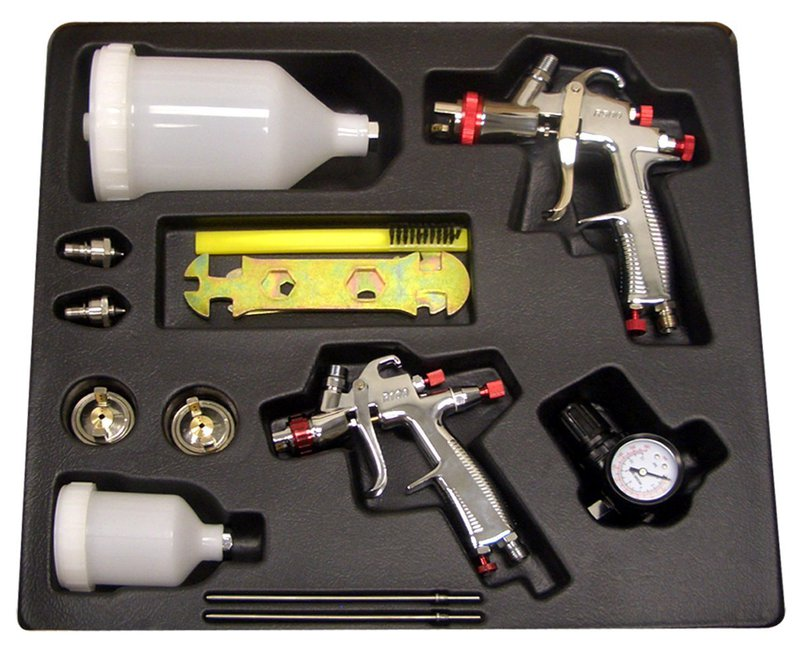 SPRAYIT SP-33500K LVLP Spray Gun Kit