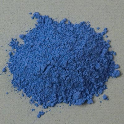 Rublev Colours Natural Pigments Ultramarine Ash 100 g - Color: Blue