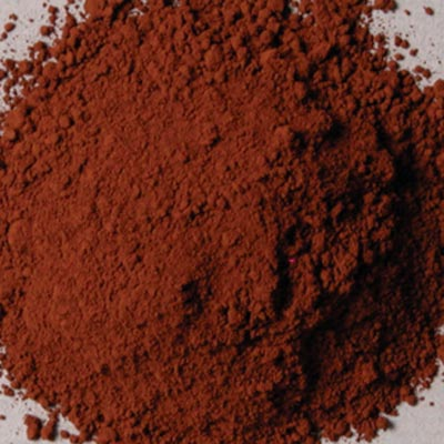 Rublev Colours Pigment: Cyprus Burnt Umber Warm