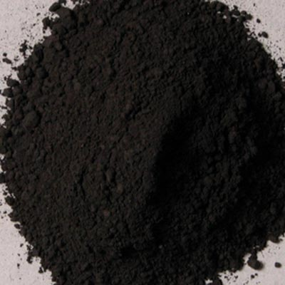 Natural Pigments Rublev Colours German Vine Black 5 kg - Color: Black