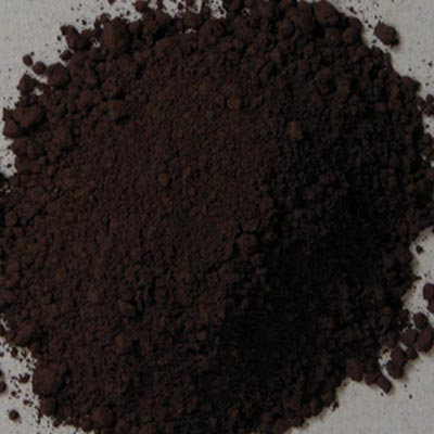 Natural Pigments Rublev Colours Cassel Earth 5 kg - Color: Brown Black