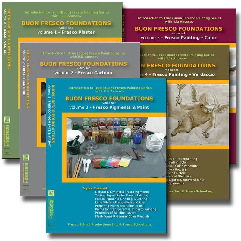 Fresco School Buon Fresco Foundations DVD Set