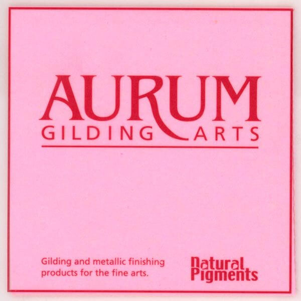Aurum Patent Gold Leaf 23.5 Karat (Book)