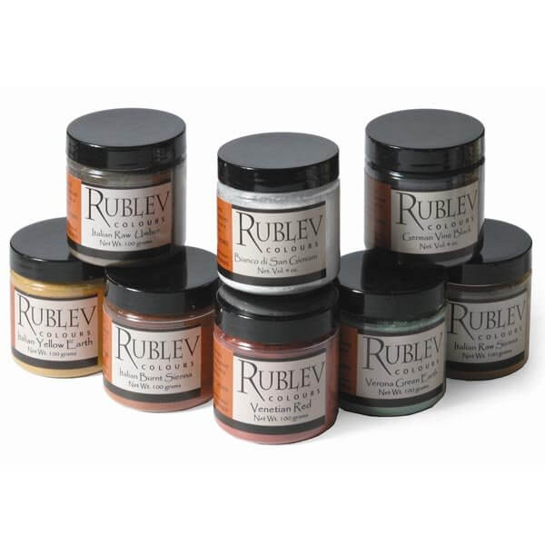 Rublev Colours Introductory Fresco Pigment Set