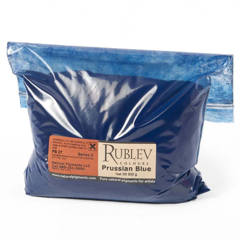 Rublev Colours Rublev Colours Prussian Blue 5 kg - Color: Blue