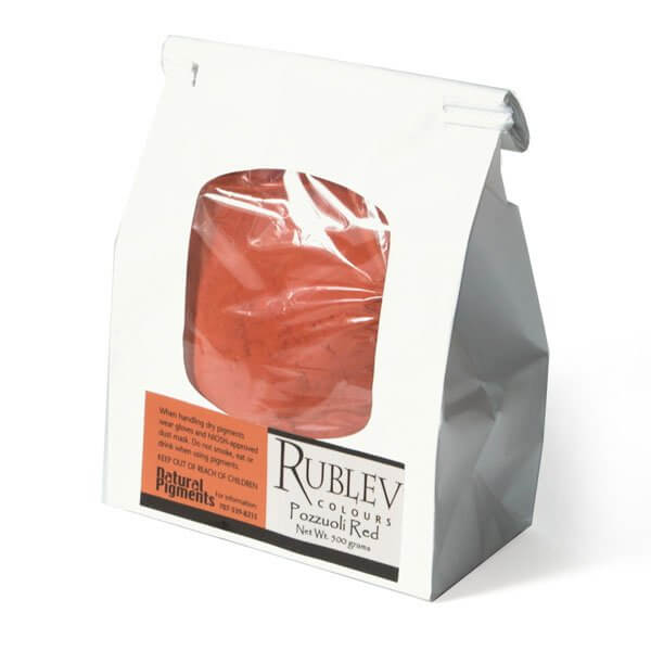 Natural Pigments Natural Pigments Pozzuoli Red 1 kg - Color: Red