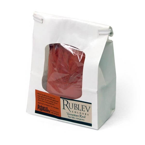 Natural Pigments Rublev Colours Venetian Red 500 g