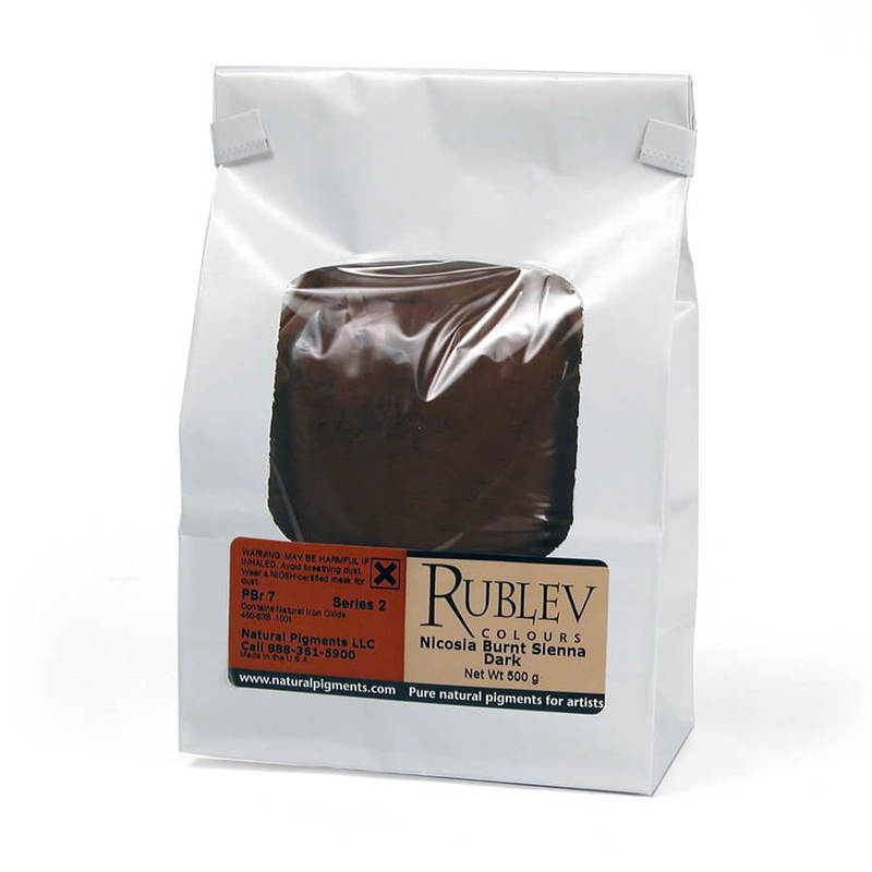 Rublev Colours Nicosia Burnt Sienna Dark 1 kg - Color: Brown