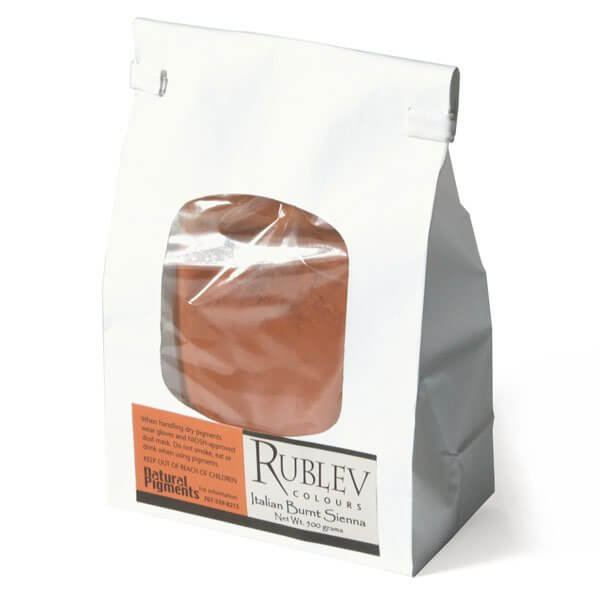 Rublev Colours Rublev Colours Italian Burnt Sienna 5 kg - Color: Brown