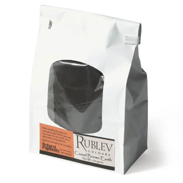 Rublev Colours Rublev Colours Cassel Earth 5 kg - Color: Brown Black