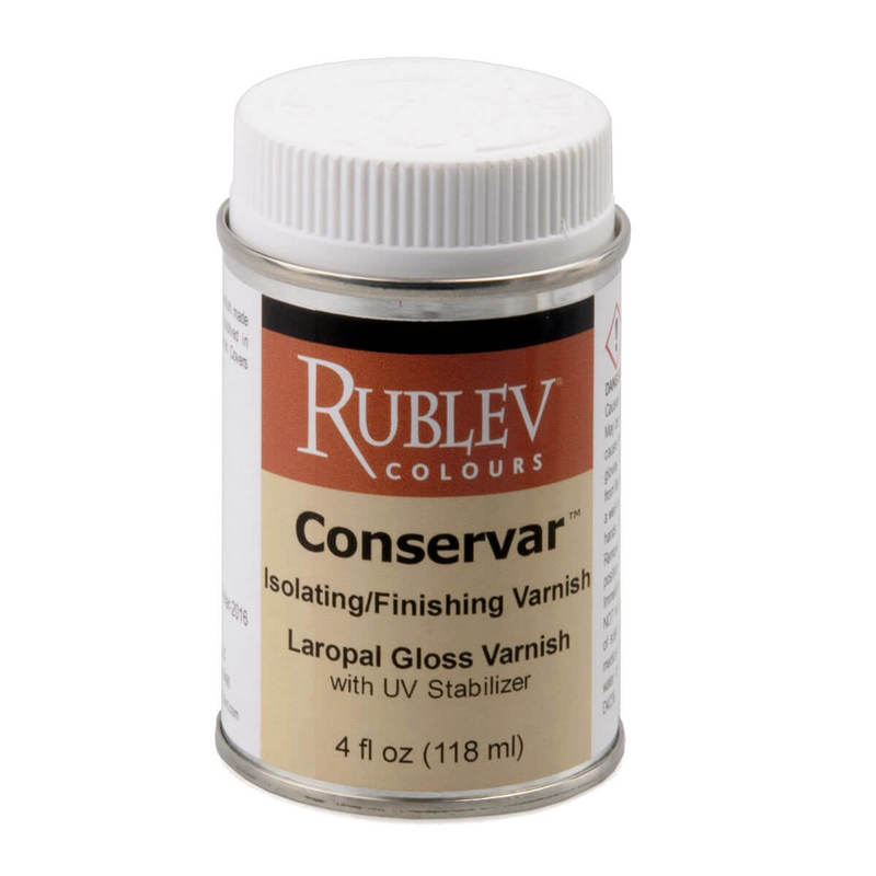 Natural Pigments Conservar Isolating/Finishing Varnish (Gloss) 4 fl oz