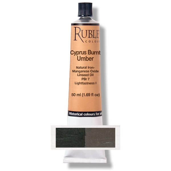 Cyprus Burnt Umber 50 ml