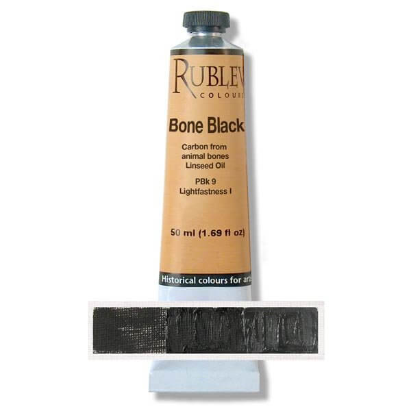 Rublev Colours Blue Black Artists Oil (50 ml)