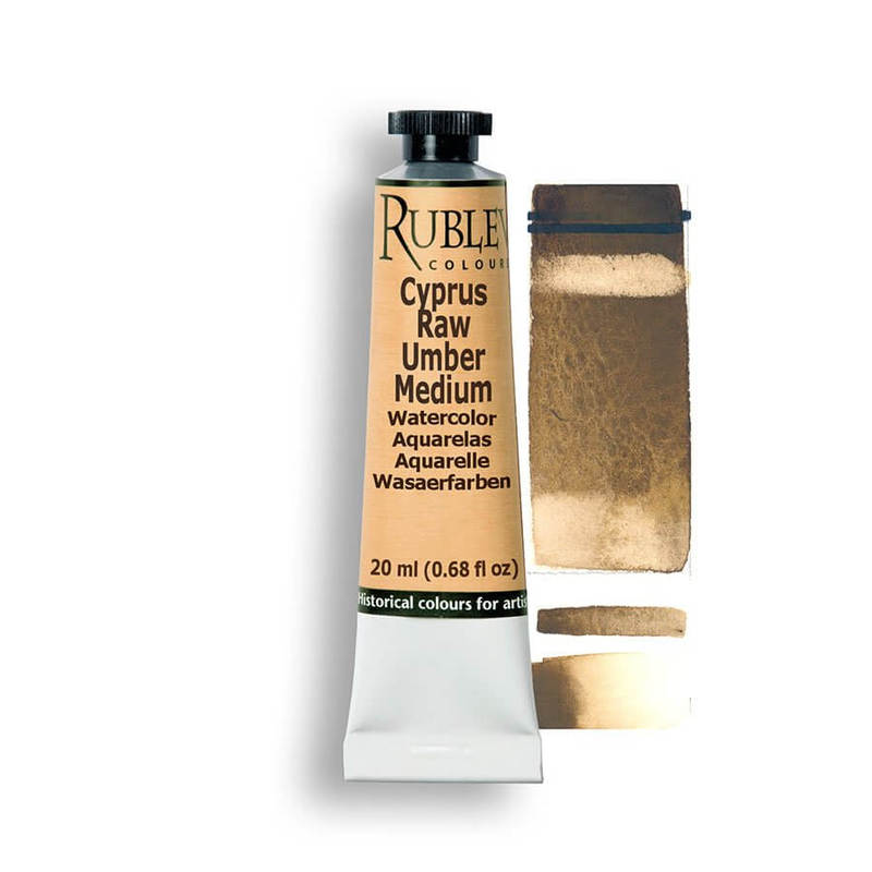 Cyprus Raw Umber Medium 15ml
