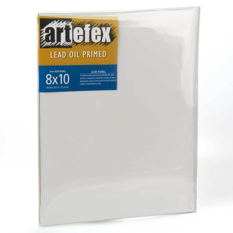 Artefex Allinpanel Lead Oil-Primed Linen ACM Panel
