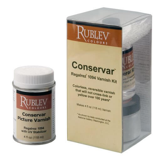 Conservar Regalrez Varnish