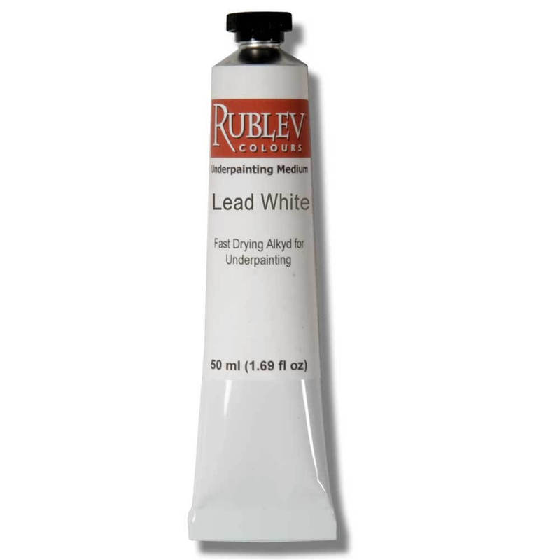 Natural Pigments Underpainting Lead White (50ml)