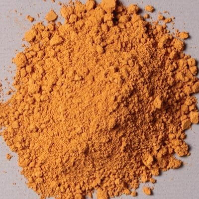 Natural Pigments Natural Pigments Yellow Ocher Dark (4 oz vol) - Color: Yellow