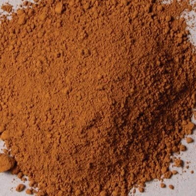 Natural Pigments Rublev Colours Cyprus Raw Umber Light 5 kg - Color: Brown