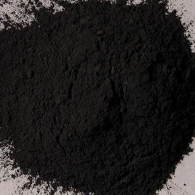 Natural Pigments Rublev Colours Natural Black Oxide 5 kg - Color: Black
