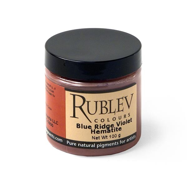 Rublev Colours Blue Ridge Violet Hematite 100 g - Color: Red